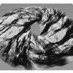 Directional noise: Elongating diagonally to a circular stroke