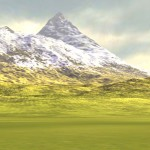 Fully (lit and) textured terrain using height, slope and noise information
