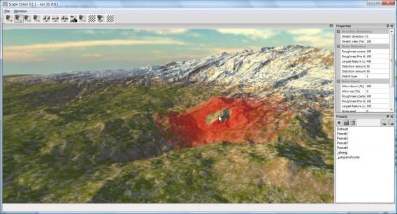 Screenshot of Scape 0.1.1