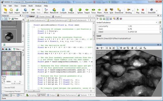 jordanTurbulence pixel shader in FX Composer
