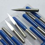 V-shaped PCB bits